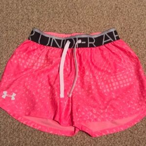 Under armour athletic kids shorts